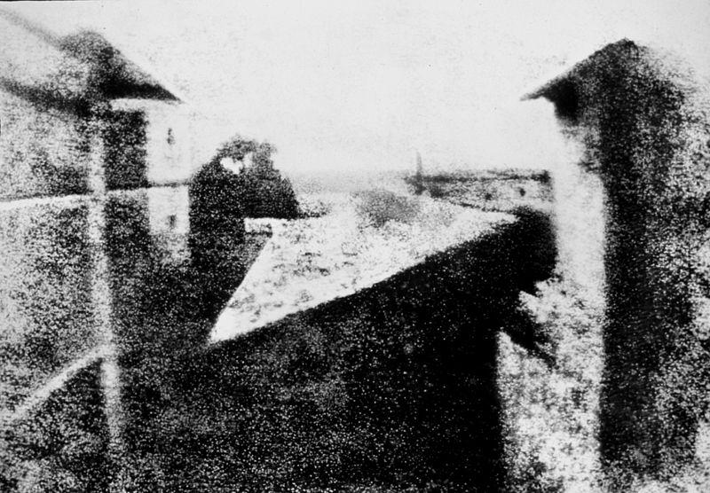اسطبل و کبوترخانه - نخستین عکس تاریخ عکاسی