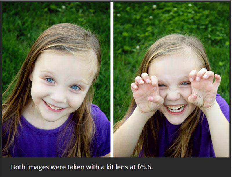 ترفندهایی برای عکاسی پرتره با لنزهای کیت