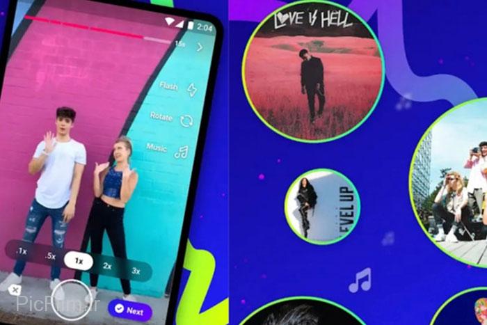 اپلیکشن ساخت ویدئوهای کوتاه Lasso