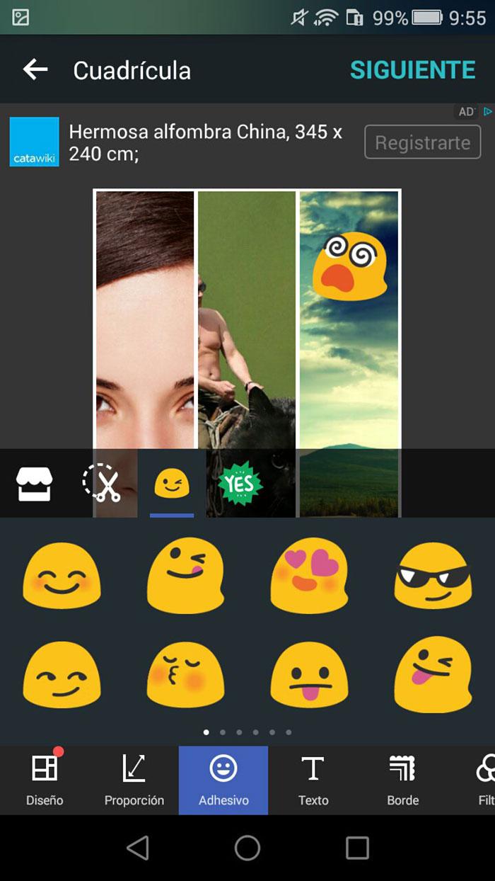 اپلیکیشن عکاسی PhotoGrid