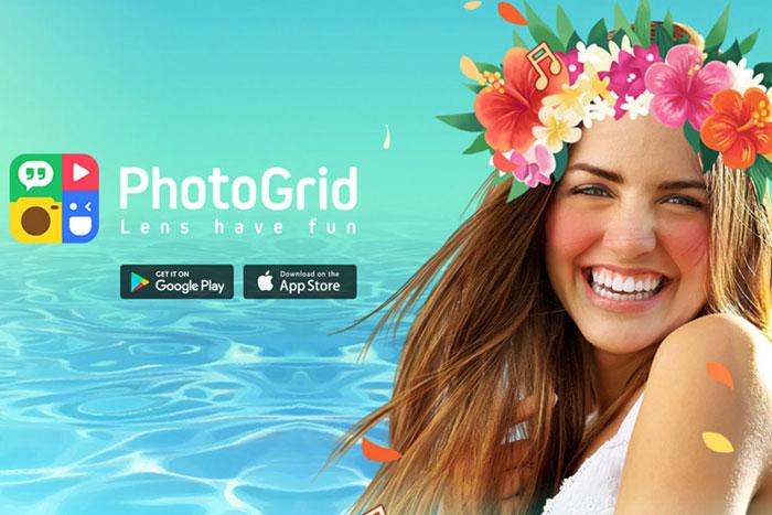 ویرایش حرفهای عکس با PhotoGrid
