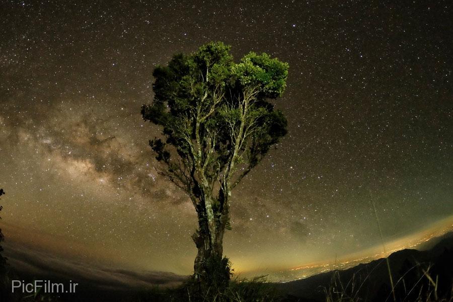 ۵۰ عکس زیبا از شب !