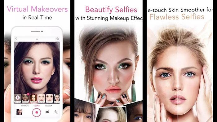 اپلیکیشن Youcam Makeup
