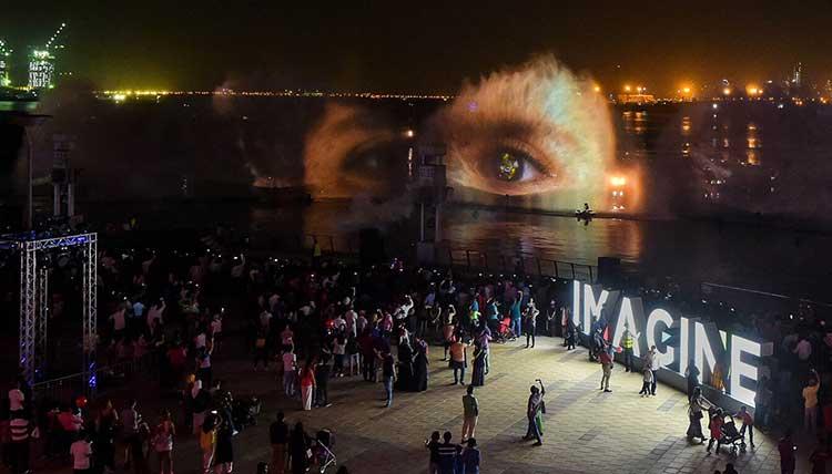 لیزر شو دوبی ، زیباترین و جذابترین لیزر شو دنیا