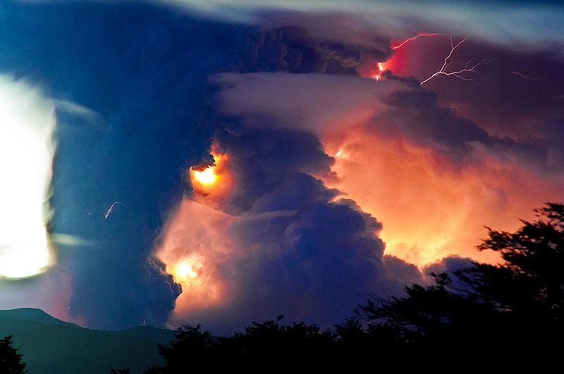 تصاویری از طوفانهای تندری کثیف